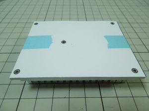 放熱板の加工1
