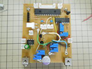 放熱板とメイン基板を合体