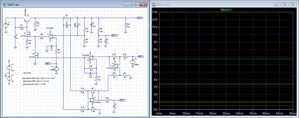 定電圧回路シミュレーション