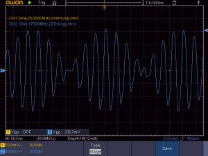 標準条件での出力波形