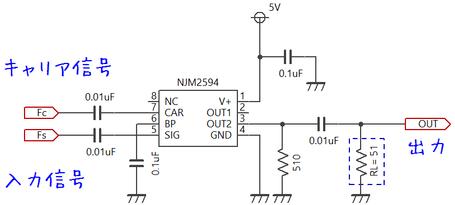 NJM2594 標準検証回路