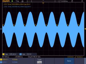 正常な波形