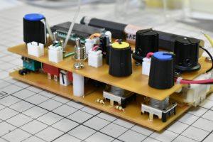 メイン基板と前面基板の本組み