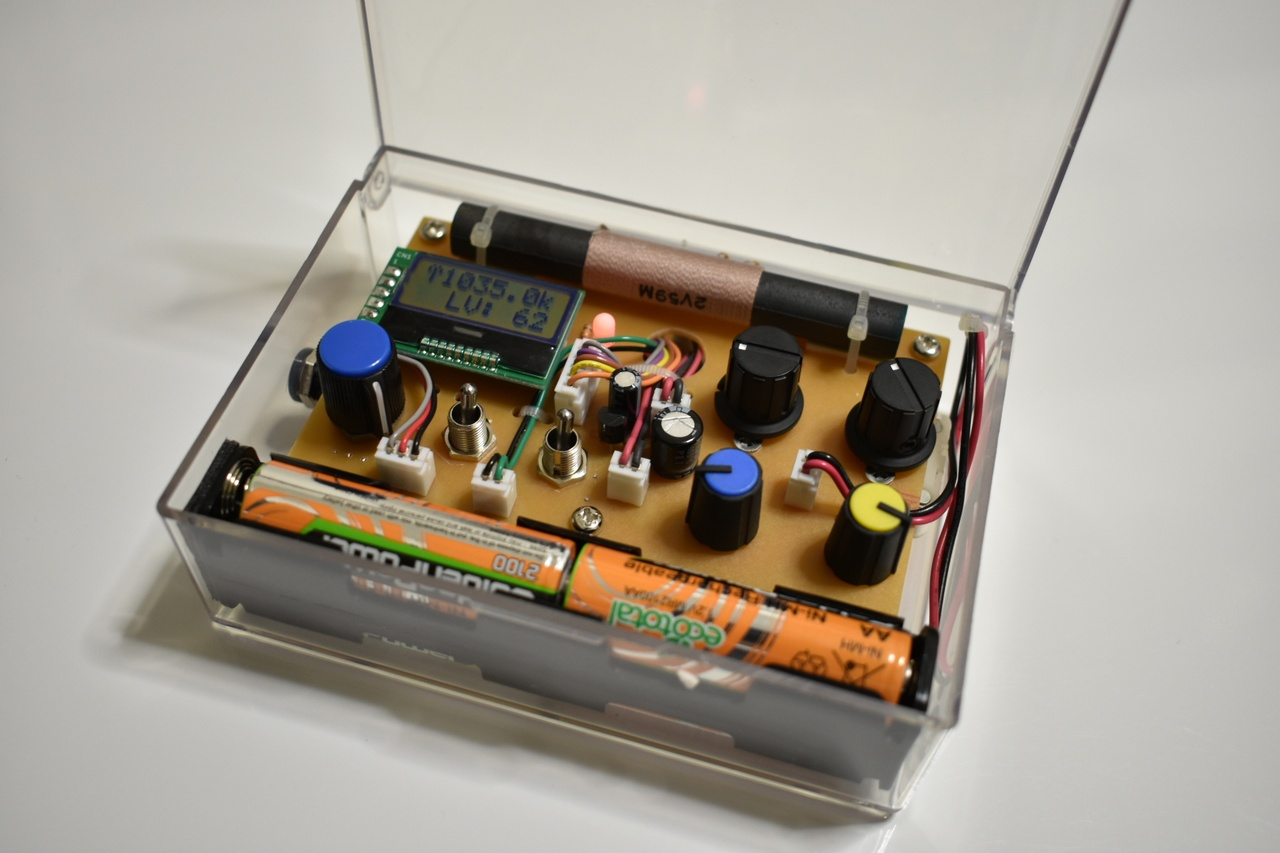 AM送信機(トランスミッター)の自作!高性能な送信機
