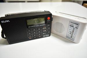 テストに使ったラジオ