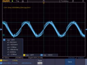 2石スーパーラジオ他励式混合部の出力波形