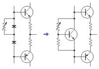 SEPPバイアス回路の置き換え