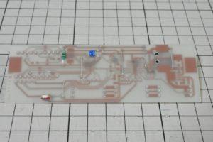 電子温湿度計の基板表面