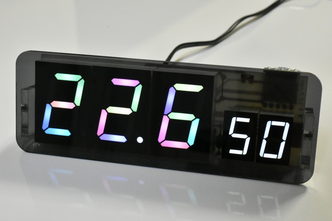 電子温湿度計の自作!簡単回路で高精度なフルカラー表示