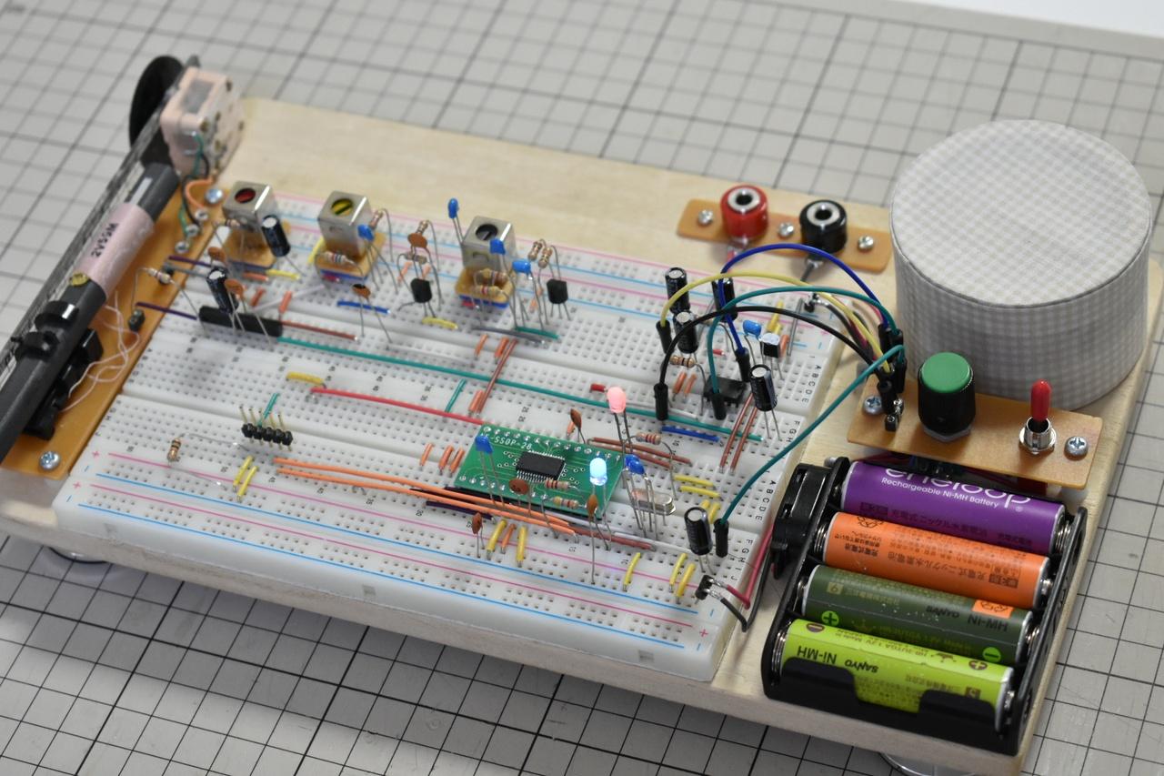 ソフトウェアラジオの自作!dsPICで計算した音を聴く