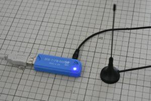 USBドングルタイプのソフトウェアラジオ受信