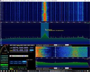 フリーのソフトウェアラジオソフト HDSDR