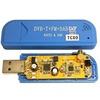 R820T2 & SDR+TCXO(温度補償型水晶発信器±0.5PPM)実装カスタムチューナー単品Blue