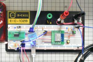 ESP-WROOM-02 検証の様子