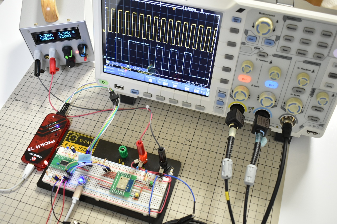 ESP-WROOM-02でI2SのWiFi送信速度を計る