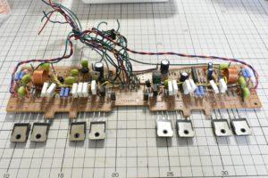 パワーアンプ出力段基板