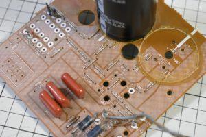 A-817RXIIの電源基板