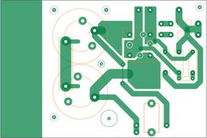 新しい電源基板のパターン