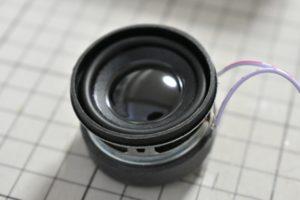 使用する小型スピーカー