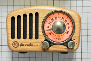 FMラジオの時のLED色(赤)