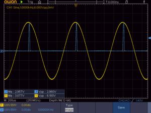 ピークホールドチャージ電圧波形