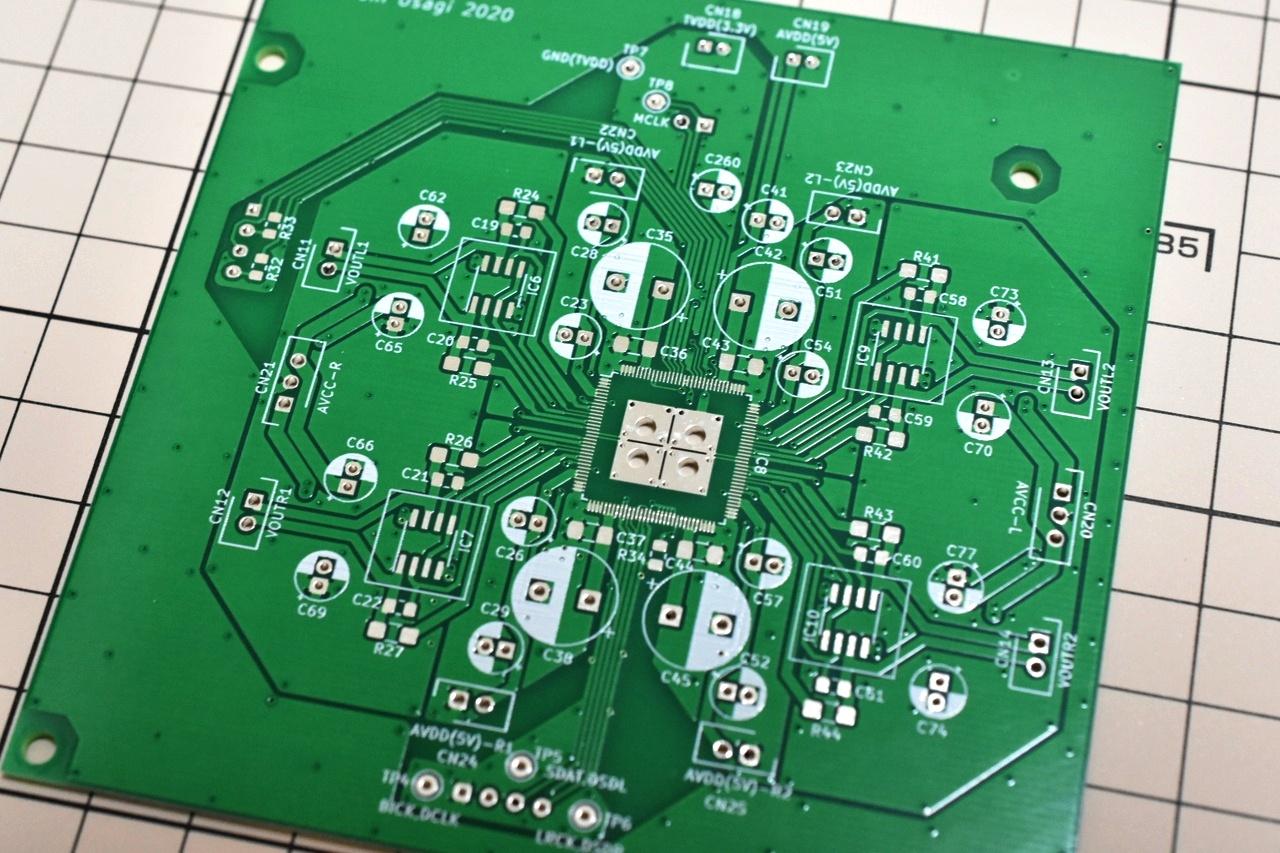 プリント基板の自作!簡単にできる格安オーダーメイド法