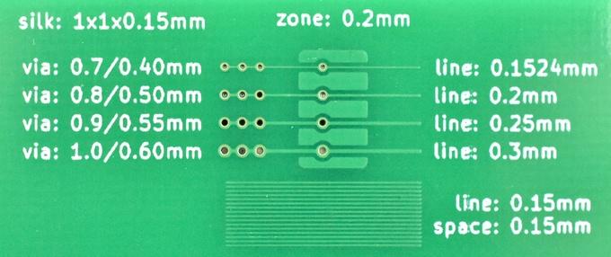 サンプルオーダー基板