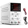 Kungber 安定化電源 可変直流安定化電源 スイッチング電源 DC 直流電源 0-30V 0-10A